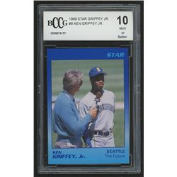 1989 Star Griffey Jr. #9 Ken Griffey Jr. / The Future (BCCG 10)
