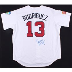 "Alex Rodriguez Signed LE 2006 Team USA World Baseball Classic Team Jersey Inscribed ""Game Winning Hi"
