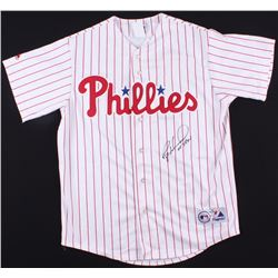 "Ryan Howard Signed Phillies Jersey Inscribed ""05' ROY"" (Beckett COA)"