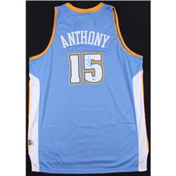 Carmelo Anthony Signed Nuggets Jersey (Beckett COA)