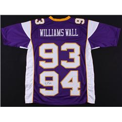 "Pat Williams Signed ""Williams Wall"" Vikings Jersey (JSA COA)"