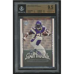 2007 Upper Deck Exclusive Edition Rookies #279 Adrian Peterson (BGS 9.5)