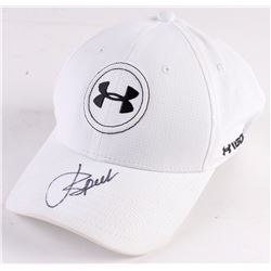 Jordan Spieth Signed Under Armour Fitted Hat (JSA COA)