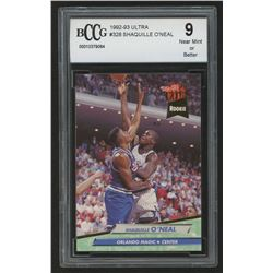 1992-93 Ultra #328 Shaquille O'Neal RC (BCCG 9)