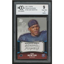 2011 Topps Rising Rookies #130 Cam Newton RC (BCCG 9)
