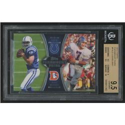 2012 Topps Paramount Pairs #PALE Andrew Luck / John Elway (BGS 9.5)