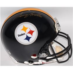 Terry Bradshaw Signed Steelers Full-Size Authentic On-Field Pro-Line Helmet (Beckett COA)