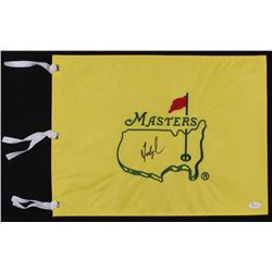 Fred Couples Signed Masters Tournament Pin Flag (JSA COA)