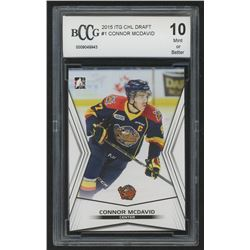 2015 ITG CHL Draft #1 Connor McDavid (BCCG 10)