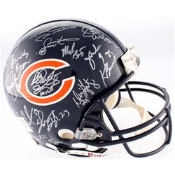 1985 Bears LE Authentic On-Field Full-Size Helmet Signed By (3) With Mike Ditka, Mike Singletary, Wi