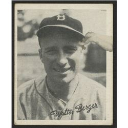 1936 Goudey Black and White #1 Wally Berger