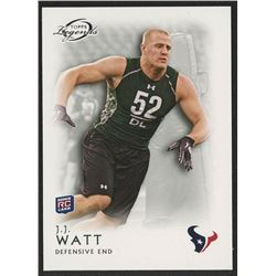 2011 Topps Legends #119 J.J. Watt RC