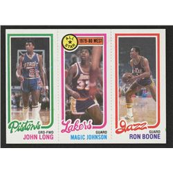 1980-81 Topps #111 88 John Long / 18 Magic Johnson AS / 237 Ron Boone