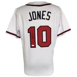 Chipper Jones Signed Braves Jersey (JSA COA)