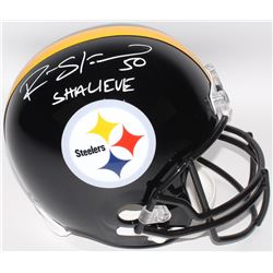 "Ryan Shazier Signed Steelers Full-Size Helmet Inscribed ""Shalieve"" (TSE COA)"