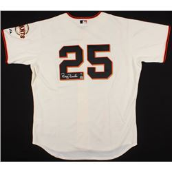 Barry Bonds Signed Gaints Majestic Jersey (MLB Hologram  Bonds Hologram)