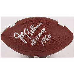 "Joe Bellino Signed Football Inscribed ""Heisman 1960"" (Beckett COA)"