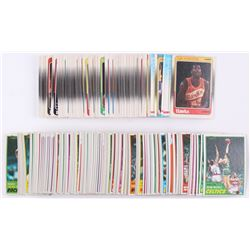 1981-82 Topps  1988-89 Fleer Basketball Partial Set of (306) Basketball Cards with Hall of Famers  S