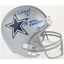 "Nate Newton Signed Cowboys Full-Size Helmet Inscribed ""SB XXVII, XXVIII, XXX Champion"" (JSA COA  Rad"