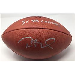 "Tom Brady Signed Super Bowl 51 Limited Edition ""The Duke"" NFL Official Game Ball Inscribed ""5x SB Ch"