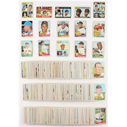 Complete Set Of (598) 1965 Topps Baseball Cards With #350 Mickey Mantle, #160 Roberto Clemente, #170