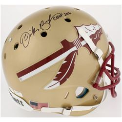 "Derrick Brooks Signed Florida Sate Seminoles Full-Size Helmet Inscribed ""CHOF 2016"" (JSA COA  Radtke"