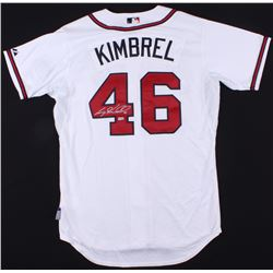 Craig Kimbrel Signed Braves Jersey  (MLB Hologram)