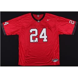 Knowshon Moreno Signed University of Georgia Jersey (Moreno Hologram  Radtke Hologram)