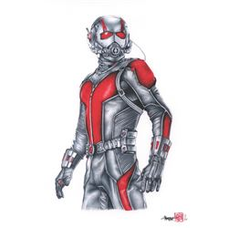 Thang Nguyen - Ant-Man 8x12 Signed Limited Edition Giclee on Fine Art Paper #/25