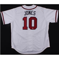 Chipper Jones Signed Braves Jersey (Radtke Hologram)