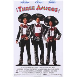 "Chevy Chase Signed ""Three Amigos"" 12x18 Photo (Press Pass Collectibles COA)"