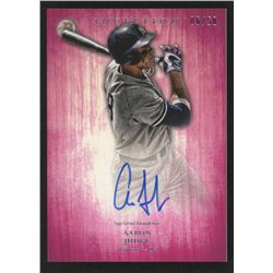 2014 Bowman Inception Prospect Autographs Pink #PAAJ Aaron Judge