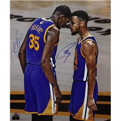 Stephen Curry  Kevin Durant Signed Warriors 20x24 Limited Edition Photo (Steiner COA  Panini COA)
