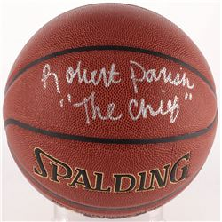 "Robert Parish Signed Basketball Inscribed ""The Chief"" (Schwartz COA)"