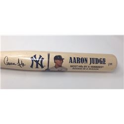 Aaron Judge Signed Yankees Limited Edition Commemorative Home Runs Baseball Bat (Fanatics Hologram)