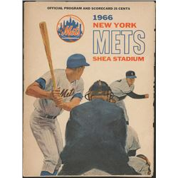 1966 New York Mets Official Program