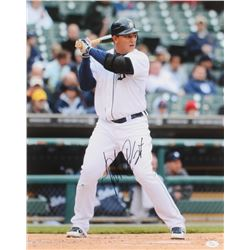 Miguel Cabrera Signed Tigers 16x20 Photo (JSA Hologram)