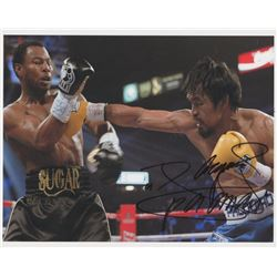 "Manny Pacquiao Signed 8x10 Photo Inscribed ""Pacman"" (Pacquiao COA)"