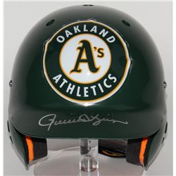Rollie Fingers Signed Athletics Full-Size Batting Helmet  (JSA COA)