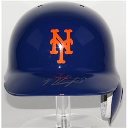 Michael Conforto Signed Mets Full-Size Batting Helmet  (LOJO COA)