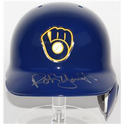 Robin Yount Signed Brewers Authentic On-Field Batting Helmet (JSA COA)