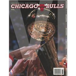 Chicago Bulls 1998-99 Yearbook Magazine