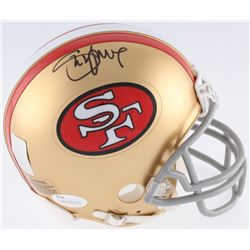 Steve Young Signed 49ers Mini Helmet (JSA COA  Young Hologram)
