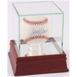 Johnny Bench Signed ONL Baseball with High Quality Display Case (PSA COA)
