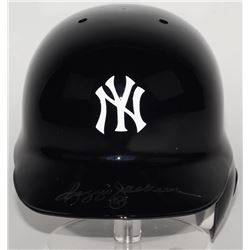 Reggie Jackson Signed Yankees Authentic On-Field Batting Helmet (JSA COA)