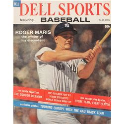 Vintage 1962 Dell Sports Magazine with Roger Maris