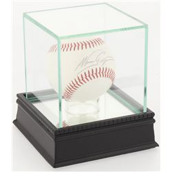 Nomar Garciaparra Signed Baseball With High Quality Display Case  (PSA COA)