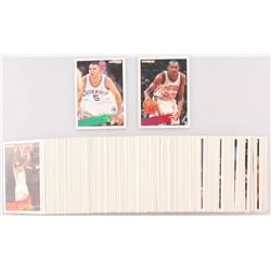 1994-95 Fleer Complete Set of (390) Basketball Cards With #268 Jason Kidd RC, #280 Grant Hill RC