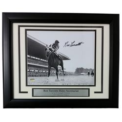 Ron Turcotte Signed 11x14 Custom Framed Photo (SI COA)