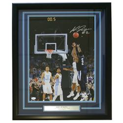 Kris Jenkins Signed Villanova Wildcats 22x27 Custom Framed Photo Display (JSA COA)